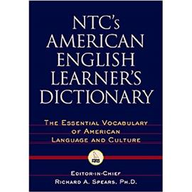NTCS AMERICAN ENGLISH LEARNERS DICTIONARY