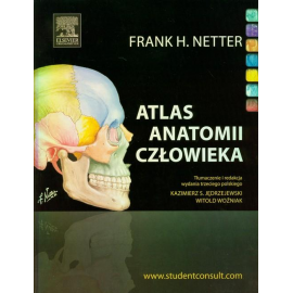 ATLAS ANATOMII NETTERA  ŁACINA