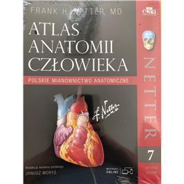 ATLAS ANATOMII NETTERA POLSKIE MIAN+KOLOROWANKA-4798